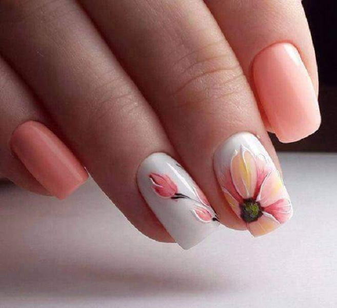60 Beautiful Spring and Summer Nail Art Designs | TickAbout
