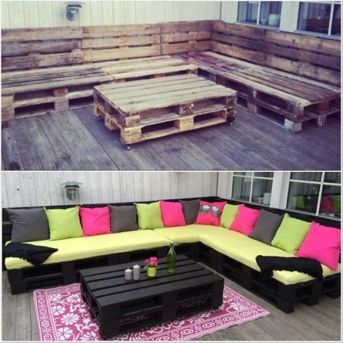 Pallet Bench Ideas Part - 35: 40+ Creative Pallet Furniture DIY Ideas And Projects