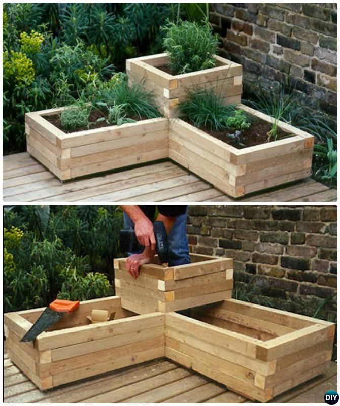 20+ Diy Raised Garden Bed Ideas Instructions [free Plans ...