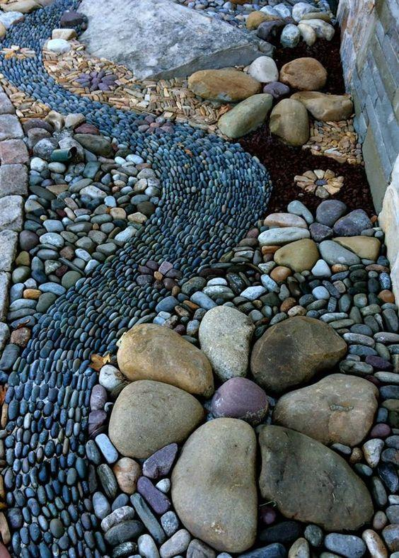 25 River Rock Garden Ideas for Beautiful DIY Designs