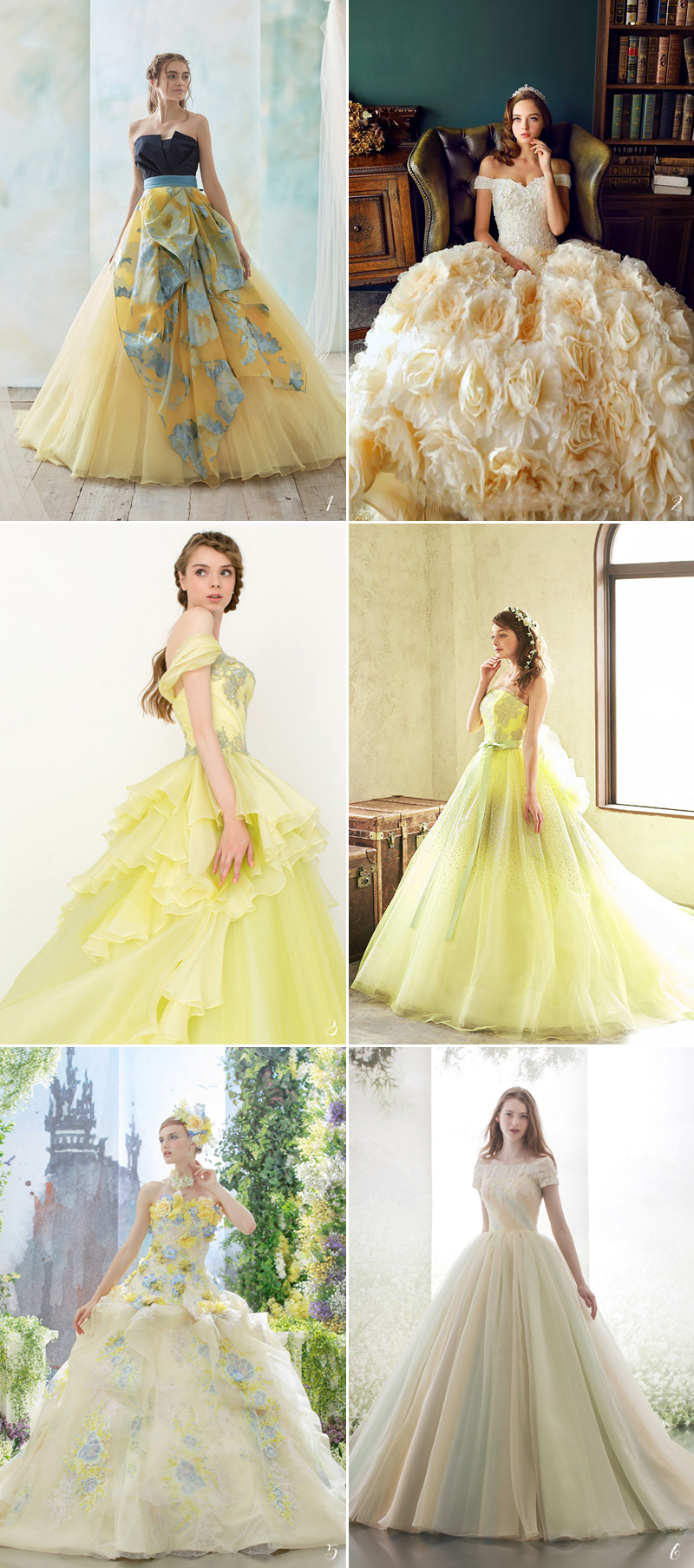 Fairy Tale Wedding Dresses For The Disney Princess Bride! | TickAbout
