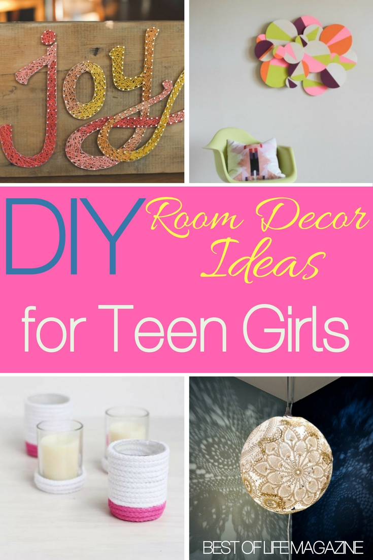 Diy room decor ideas for teens girls will love tickabout for Love room decor