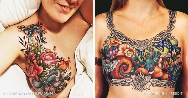 16 Times Tattoo Artists Turned Scars Into Works Of Art
