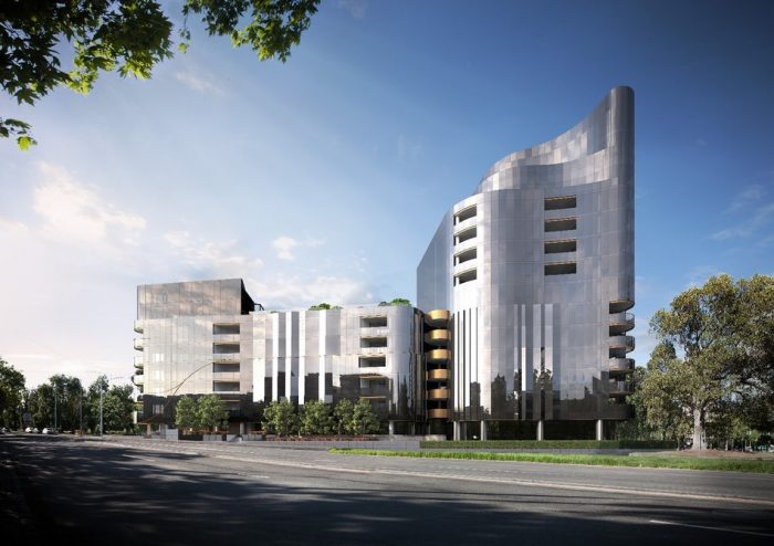 luxury apartment complex. Tech Packed Luxury Apartment Complex Planned For Melbourne  TickAbout