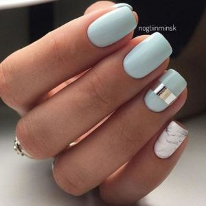 35 Pretty And Simple Nail Designs For Girls | TickAbout