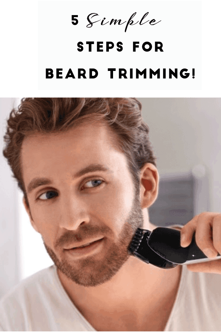 5 Simple And Easy Beard Trimming Tips That You Can Do By Yourself