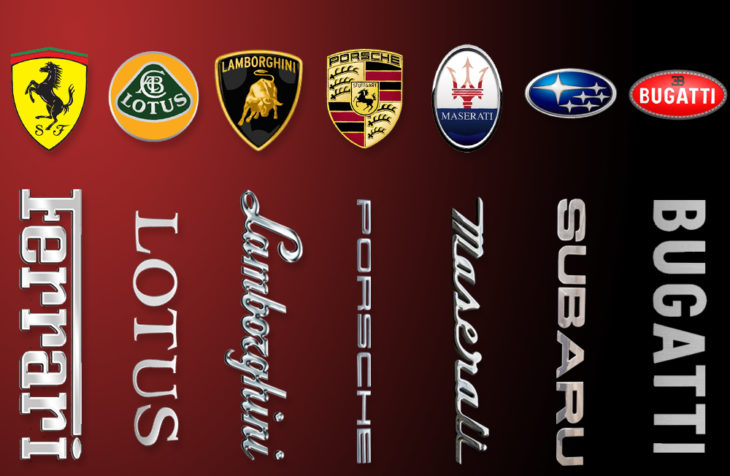 beyond the prancing horse 7 supercar logos explained tickabout
