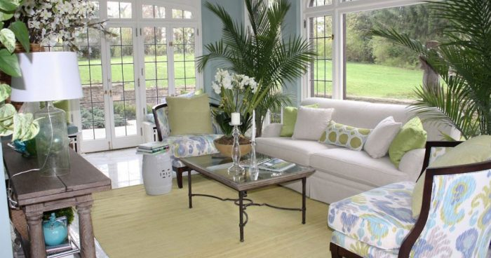 34 Awesome Sunroom Decorating Ideas | TickAbout