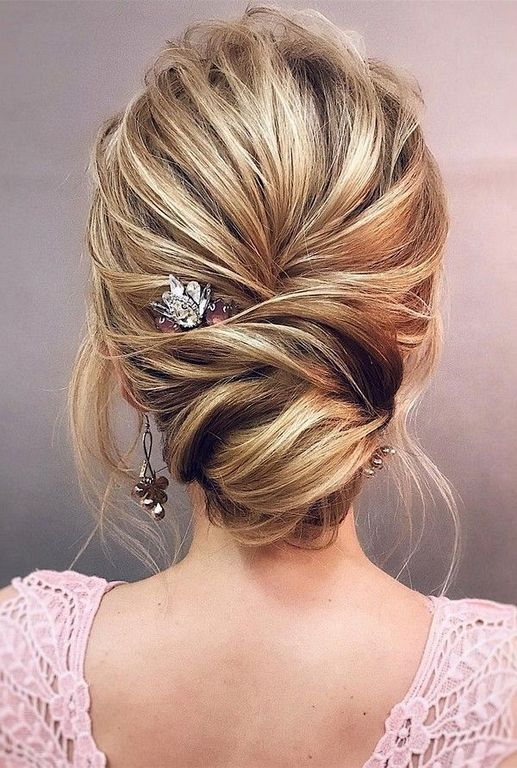 20 Elegant Updo Hairstyles Ideas For Brides Tickabout