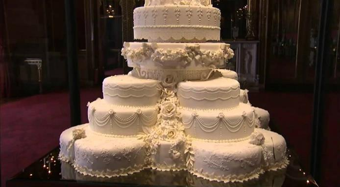 british royal wedding cake recipe royal wedding cakes through the ages tickabout 12164
