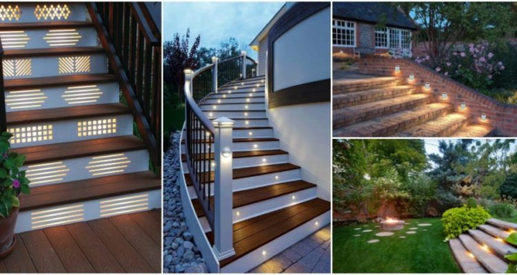 Outdoor Step Lighting Ideas For Look Of Your Yard