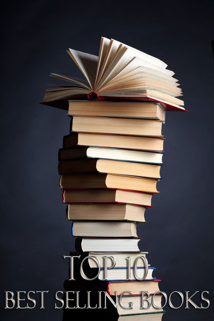 Top 10 Best Selling Books of All Time | TickAbout