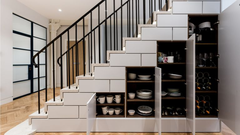Amazing Under The Stairs Storage Ideas Tickabout