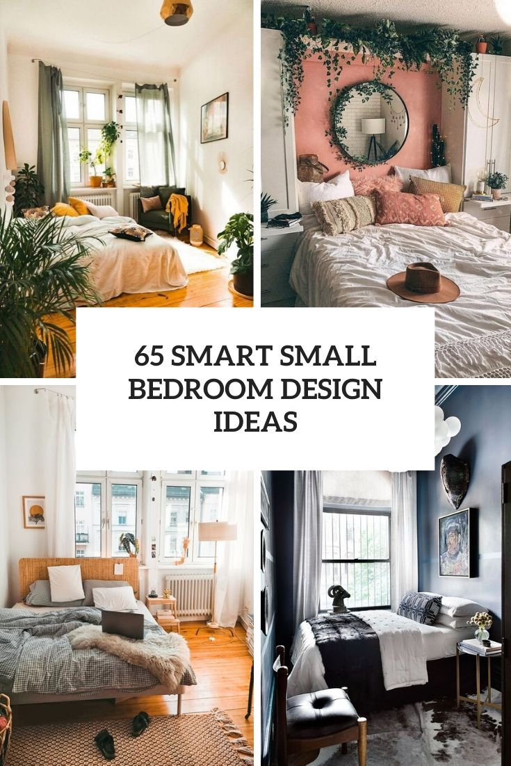 65 Smart Small Bedroom Design | TickAbout